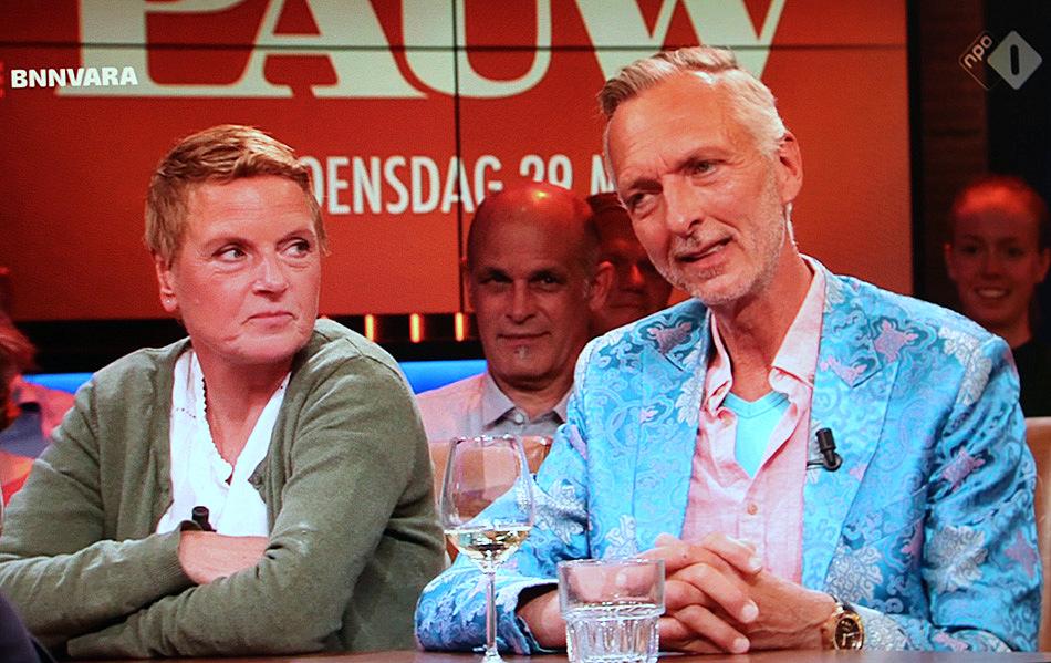 Martien En Erica Meiland Van 'Chateau Meiland' Te Gast Bij