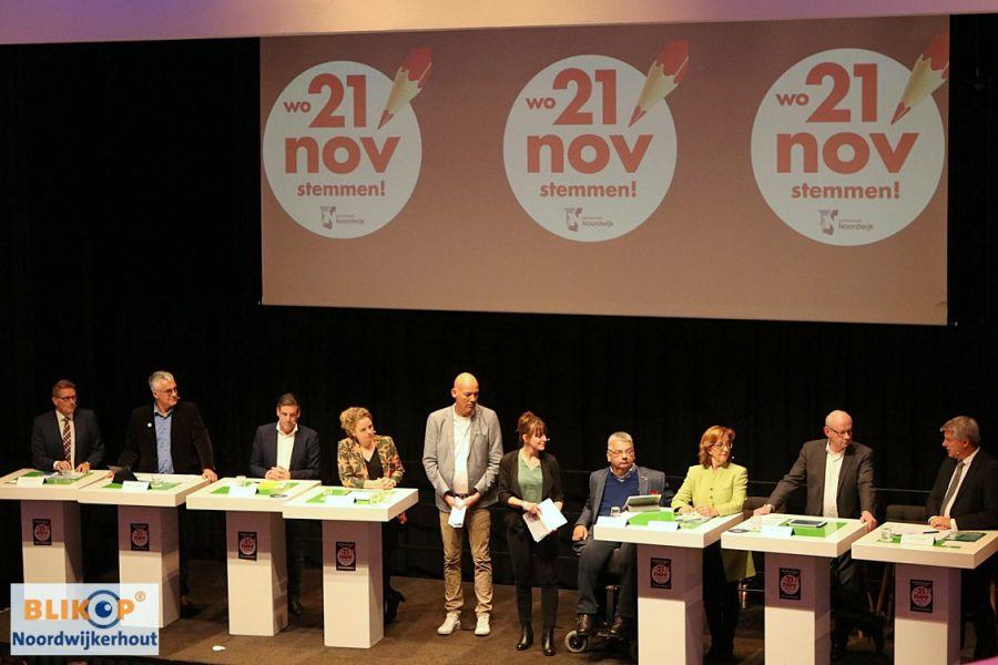 Afsluitend verkiezingsdebat op maandag 19 november. (uitzending verkiezingsdebat + foto's)