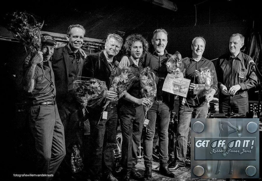Robbert Fossen uit De Zilk wint met band 'Dutch Blues CD Award 2017'.