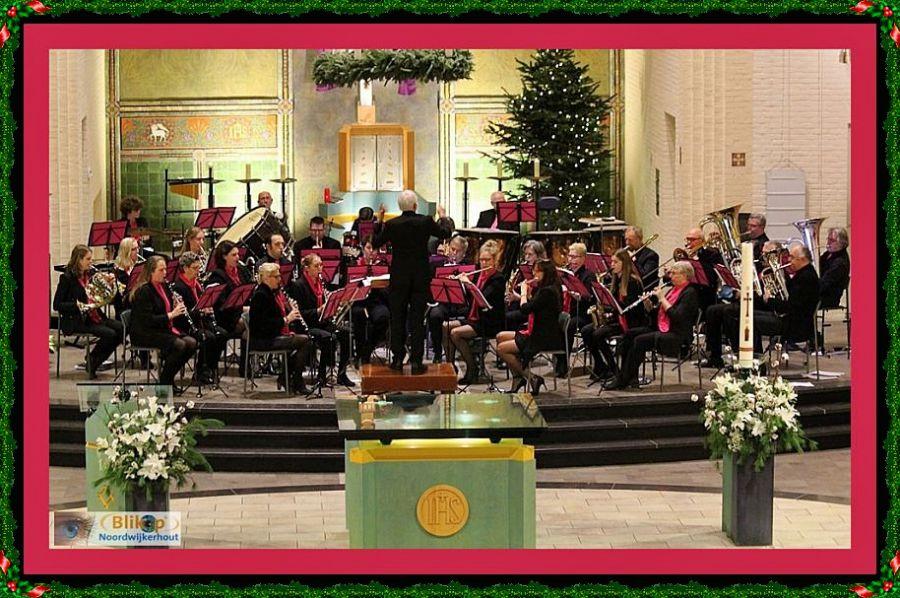 De Harpe Davids in kerstsfeer.