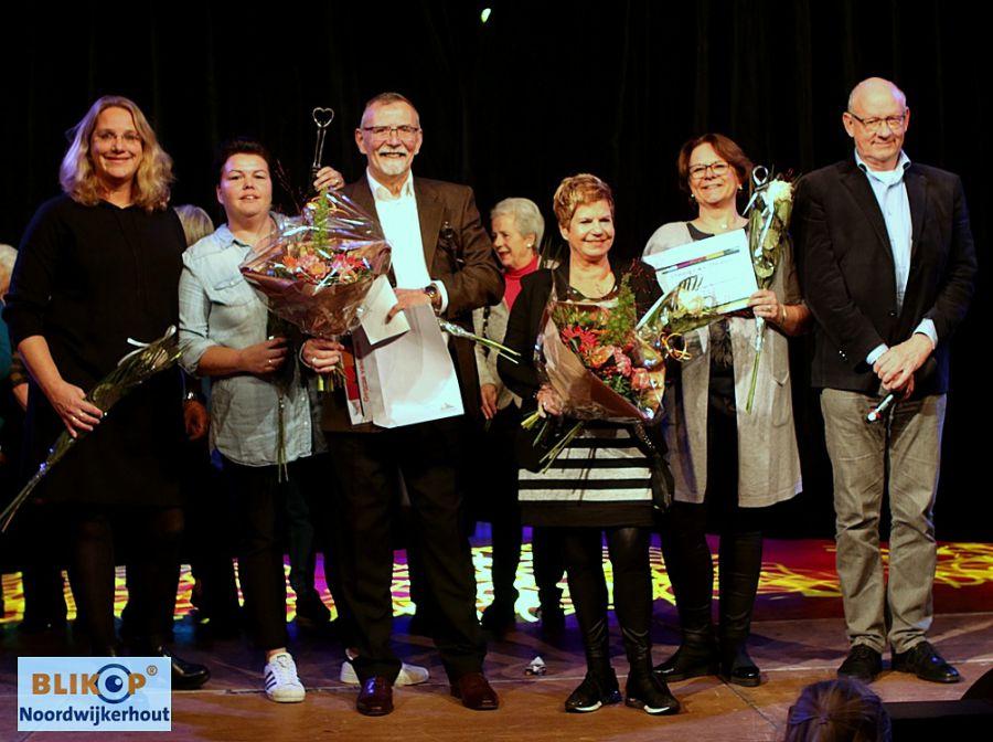 Stichting Met je hart en George van Kints 'Vrijwilligers van het jaar 2018'. (foto's+update tekst)